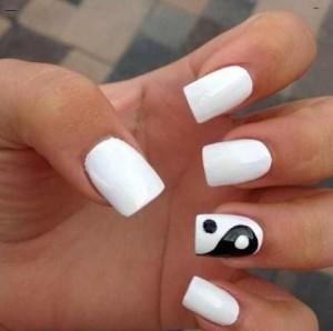 square shaped acrylic nails